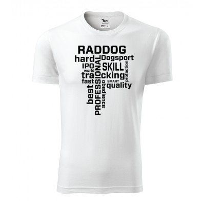 T-shirt RADDOG with words